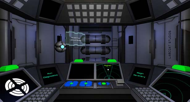 Re-Entry Cockpit Screenshot