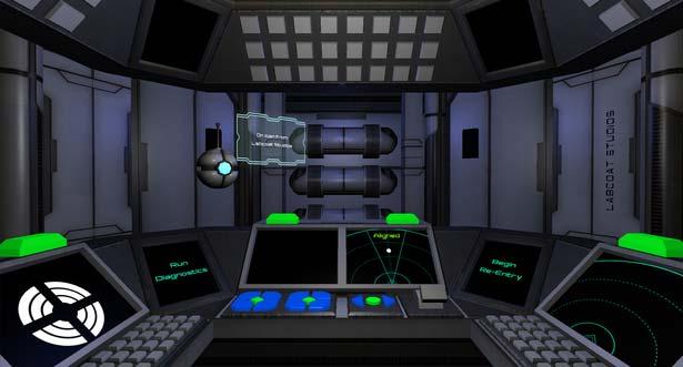 Re-Entry Cockpit Screenshot