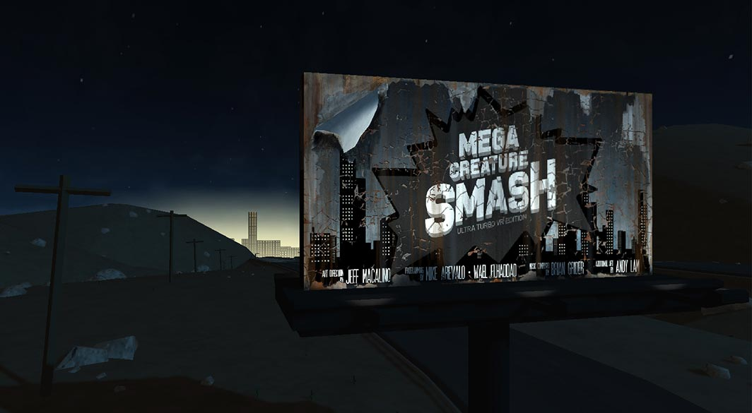VR Mega Creature Smash